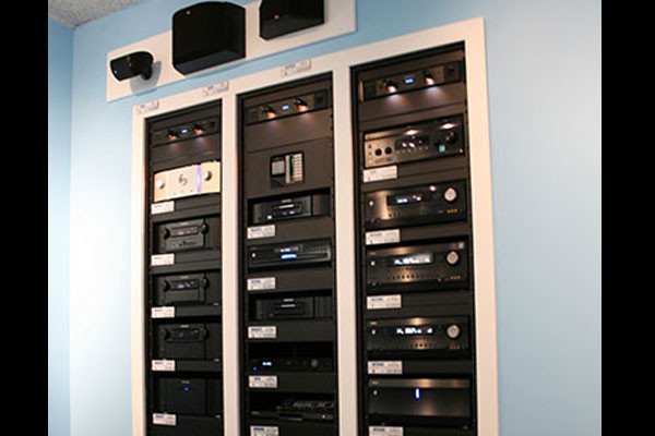 The Little Guys Home Theater Rack